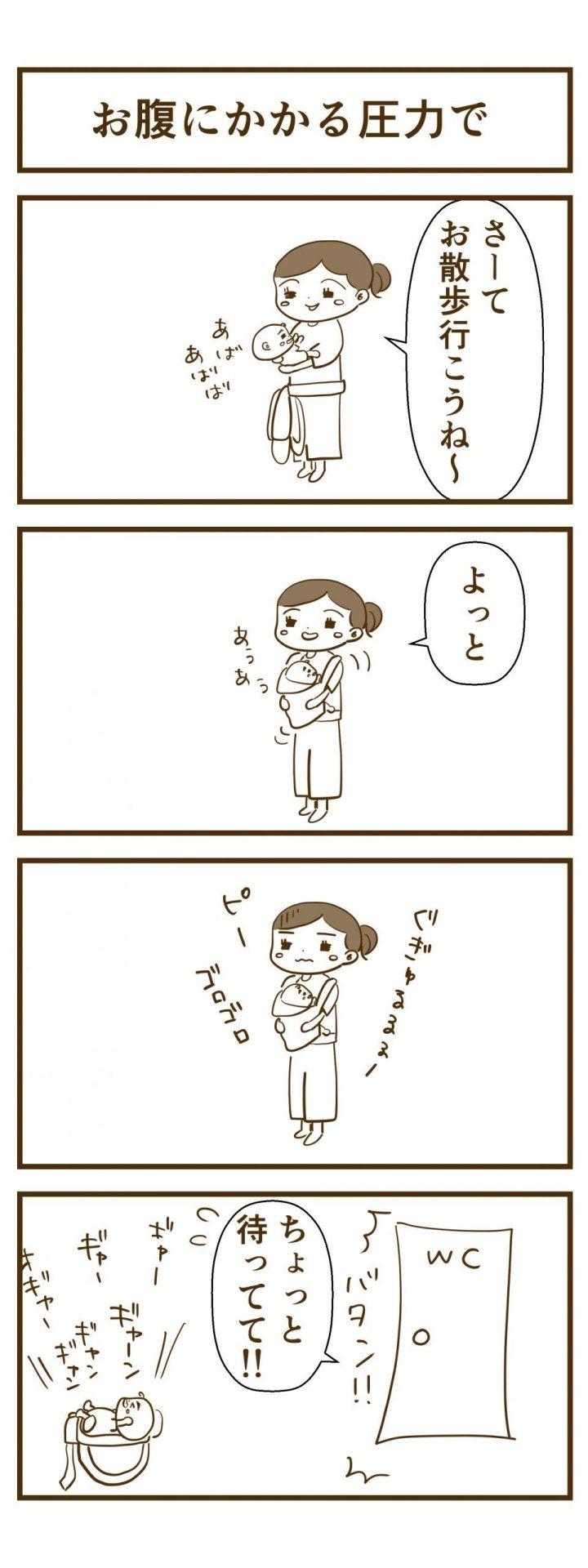 腹圧4コマ